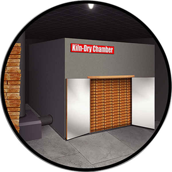 Kiln Dry Chamber | Seasoning Chamber | Wood World's Seasoning Chamber