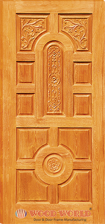 Ww 0111 wooden door and door frame manufacturing company for Latest wooden door designs 2016